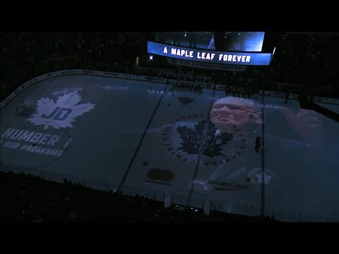 Video: Maple Leafs give late Johnny Bower an amazing farewell