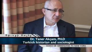 Interview with a Turkish historian Taner Akçam at KOFV annual convocation