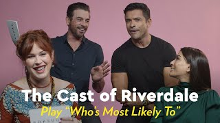 The Cast of Riverdale Plays Who's Most Likely by POPSUGAR Girls' Guide