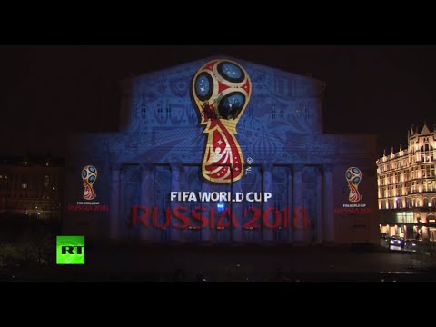 Dazzling Light Show: Russia 2018 FIFA World Cup Logo Unveiled