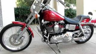 8. Harley-davidson Dyna Wideglide, Vance and Hines exhaust, total chrome, for sale
