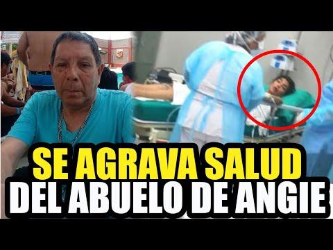 ABUELO DE ANGIE JIBAJA A PUNTO DE UN INFARTO AL VERLA HOSPITALIZADA видео