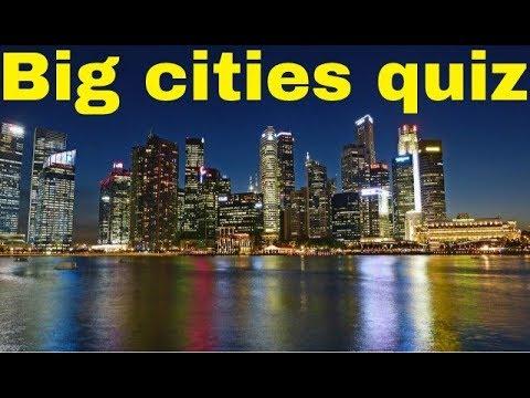 Big cities quiz