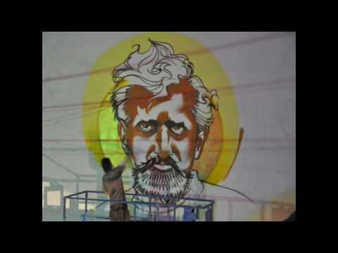 Video | Mear One Alphonse Mucha Tribute Mural