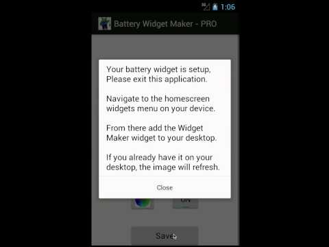 Video of Battery Status Maker FREE