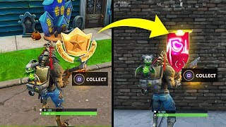 SECRET BANNER WEEK 4 SEASON 6 LOCATION! - Fortnite Battle Royale– WEEK 4 SECRET BATTLE STAR REPLACED
