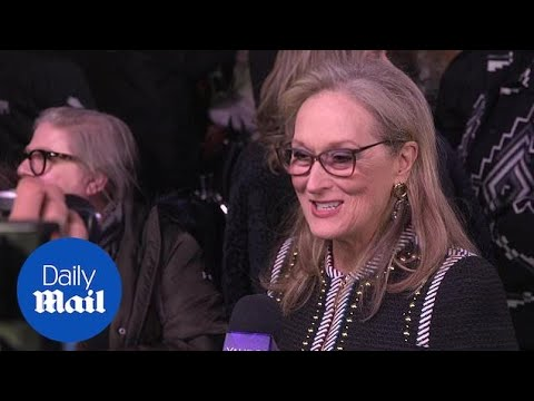 Emily Blunt and Meryl Streep at Mary Poppins Returns premiere