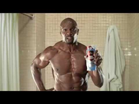 crews - Video of Terry Crews on the Old Spice Commericals.