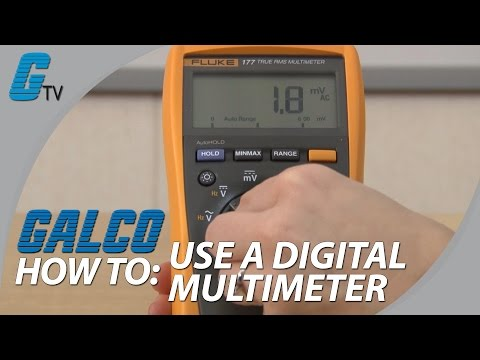 How To Use a Multimeter - Basic Tutorial