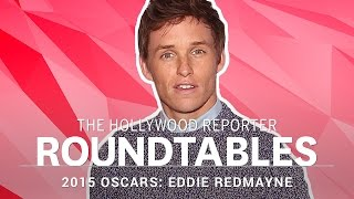 Eddie Redmayne on Meeting Stephen Hawking : The Actors Roundtable