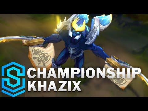 Kha'Zix Quán Quân - Championship Kha'Zix Skin