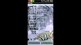 Tiger Live Wallpaper Free YouTube video