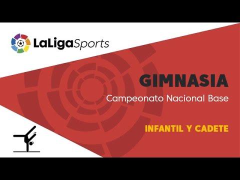 Gimnasia  Campeonato Nacional Base - Infantil y cadete