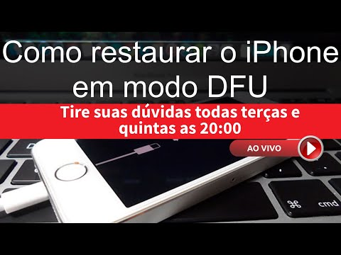 Video 3 - Esqueci a senha do iPhone, e agora? Como restaurar / resetar / formatar o iPhone inativo download in MP3, 3GP, MP4, WEBM, AVI, FLV January 2017