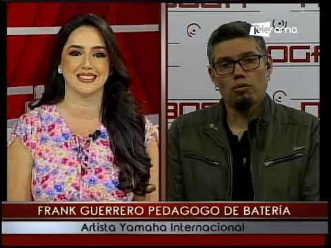 Frank Guerrero pedagogo de batería artista Yamaha Internacional
