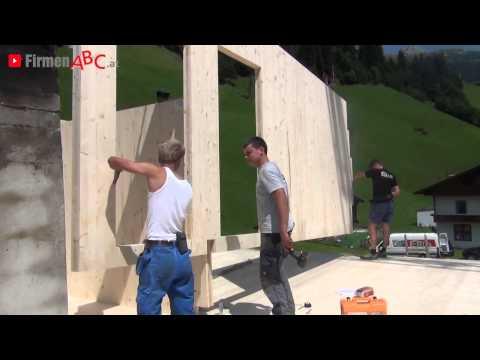 Zimmerei - Holzbau Erler in Tux im Bezirk Schwaz - Holzhäuser, Dachstühle, Balkone