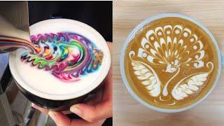 Video Viral Instagram Satisfying Cappuccino Art 2018 MP3, 3GP, MP4, WEBM, AVI, FLV Juni 2018