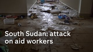 Details are only now emerging about a shocking attack on aid workers and foreigners in south Sudan. The incident happened last month when south Sudanese sold...