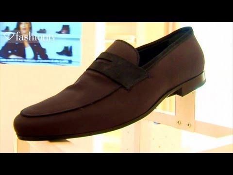 Alberto Guardiani Shoe Presentation - Milan Men's Fashion Week Spring 2012   F… видео