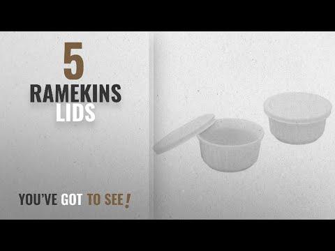 Top 10 Ramekins Lids [2018]: Corningware French White 7-Ounce 2-Pack Ramekins with Lids
