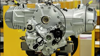 4. BMW R 1200 GS Boxer Engine Production