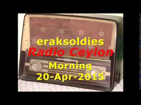Video Radio Ceylon 20-04-2015~Monday Morning~02 Purani Filmon Ka Sangeet download in MP3, 3GP, MP4, WEBM, AVI, FLV January 2017