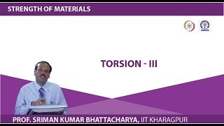 Lecture 20 Torsion - III