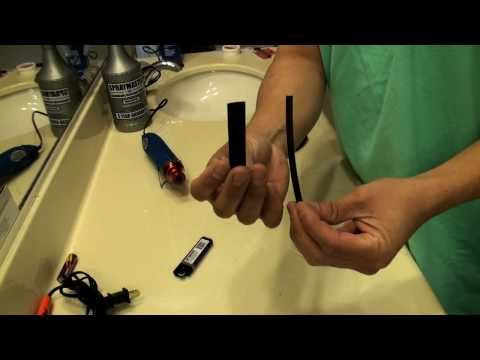 HOW TO: Use heat shrink.