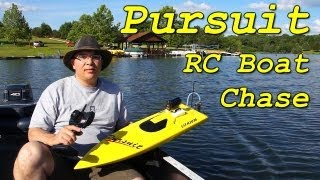 Pursuit RC Boat Chase