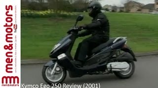 8. Kymco Ego 250 Review (2001)