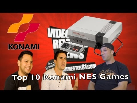 konami - See Part 2 here: http://gamester81.com/top-10-konami-nes-games/ Check out http://www.stoneagegamer.com/ for retro games and more. Be sure to subscribe to: ht...