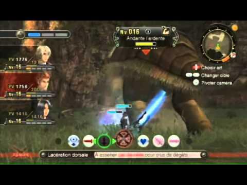 Xenoblade Chronicles - Extrait Combat