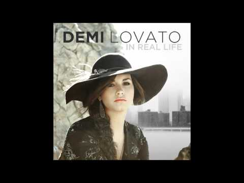 Demi Lovato - In Real Life Karaoke / Instrumental with backing vocals and lyrics