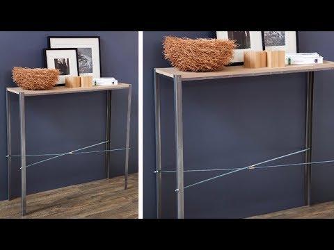 Project Tutorial: Wandkonsole selber bauen