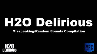 H2O DELIRIOUS Misspeaking and Random Sounds Compilation - Best of H2O Delirious
