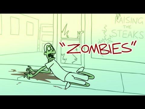 殭屍變成動畫…也太可愛溫腥了吧!