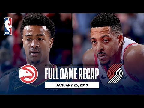 Video: Full Game Recap: Hawks vs Trail Blazers | McCollum Notches First Career Triple-Double