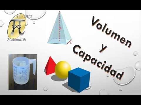 Volumen y capacidad