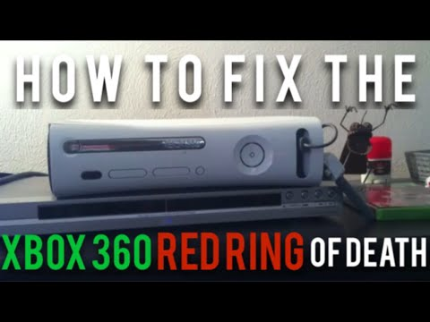 How to fix the Xbox 360 Red Ring of Death (Easy)