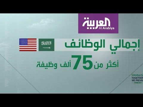 العرب اليوم - شاهد: الاتفاقيات الموقعة بين الرياض وواشنطن