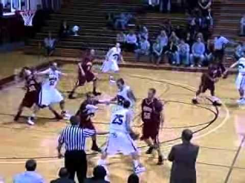 Guilford Men's Basketball vs. Bridgewater 1/12/11 Highlights