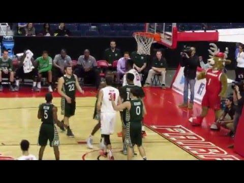 Jonathan Kasibabu Video Highlights - Manhattan vs Fairfield - Men's Basketball - Feb 07, 2016