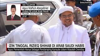 Download Video Dubes RI di Arab Saudi: Izin Tinggal Rizieq Shihab di Arab Saudi Habis MP3 3GP MP4