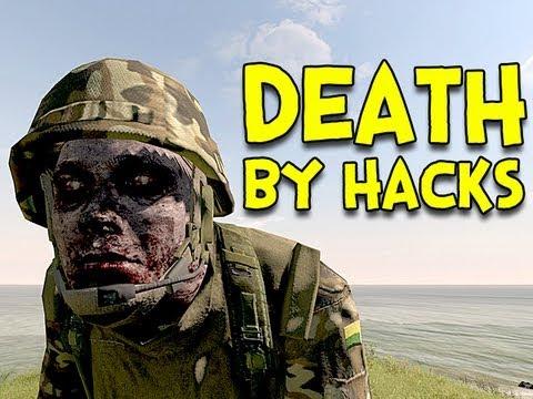 DEATH BY HACKS! - Arma 2: DayZ Mod - Ep.6