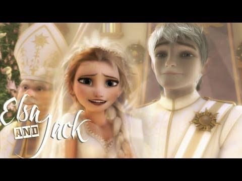 ❄Frozen |♥ СВАДЬБА♥ | Эльзы и Джека (видео)