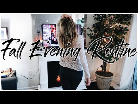 FALL Cozy Night Routine 2018 | Renee Amberg
