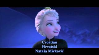 Let It Go Slavic Multilanguage - All 13 Official Clips and Singers credited. 1. Bulgarian 2. Polish 3. Czech 4. Surzhyk 5. Bosnian 6. Croatian 7. Serbian 8.