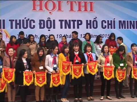 Hội thi nghi thức Đội 2015-2016 - Trường THCS Lê Lợi, Vinh, Nghệ An