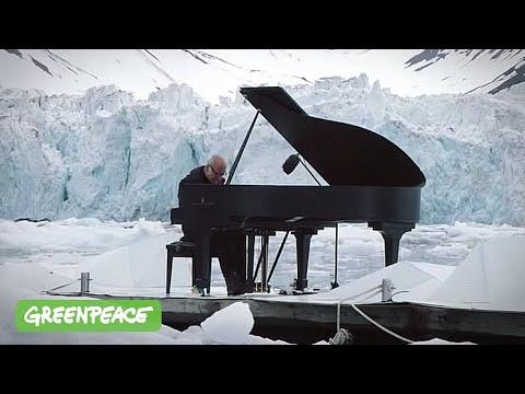 elegy for the artic (elegia per l'artico) - ludovico einaudi e greenpeace - concerto tra i ghiacci