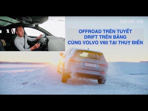 Offroad trên tuyết và Drift trên băng với Volvo V60 dưới trời lạnh 1cm - Thời lượng: 25 phút.